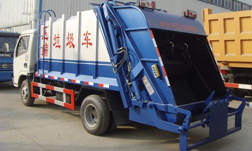垃圾车简笔画-垃圾清扫车最低价